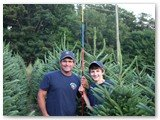 Hudler Tree Farm - Dale and Sam