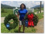Juana Ledezma...the best wreath maker in the country for 2014