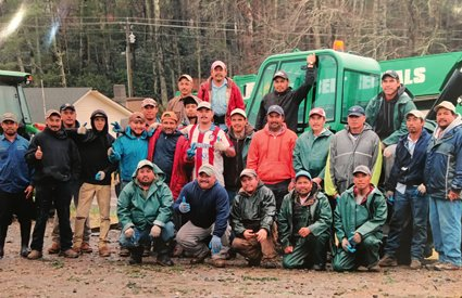 The Amazing Crew at Hudler Tree Farm